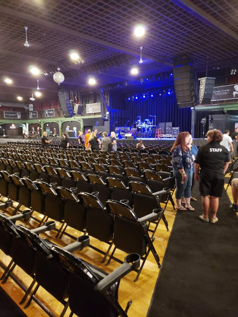 Seating view for Hampton Beach Casino Ballroom Section Center Right Section 1 Row LL Seat 22