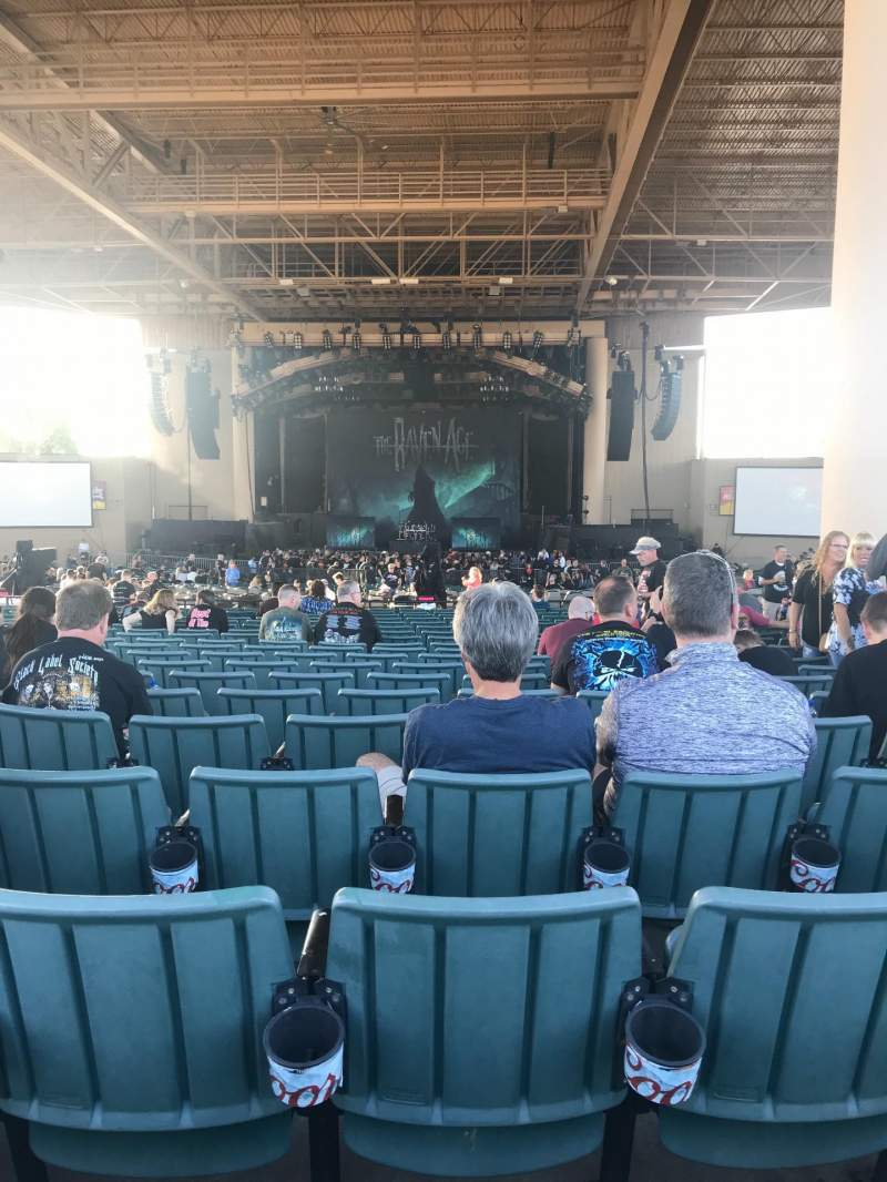 Seating view for Ruoff Music Center Section F Row Z Seat 27