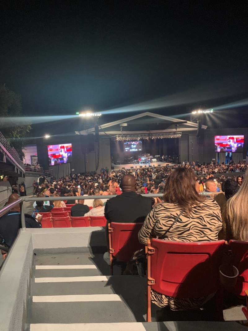 Seating view for The Greek Theatre Section C Left Row C Seat 37