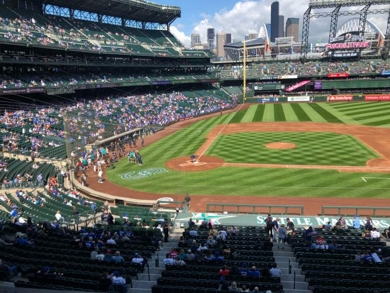 Seating view for T-Mobile Park Section 224 Row 2 Seat 8