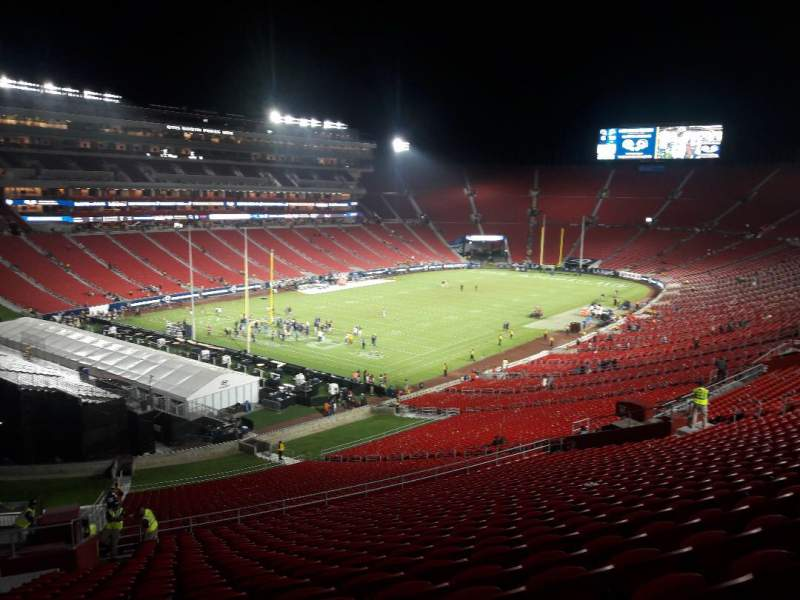 Seating view for Los Angeles Memorial Coliseum Section 327 Row 19 Seat 18