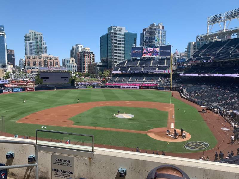 Seating view for PETCO Park Section 204 Row 3 Seat 11