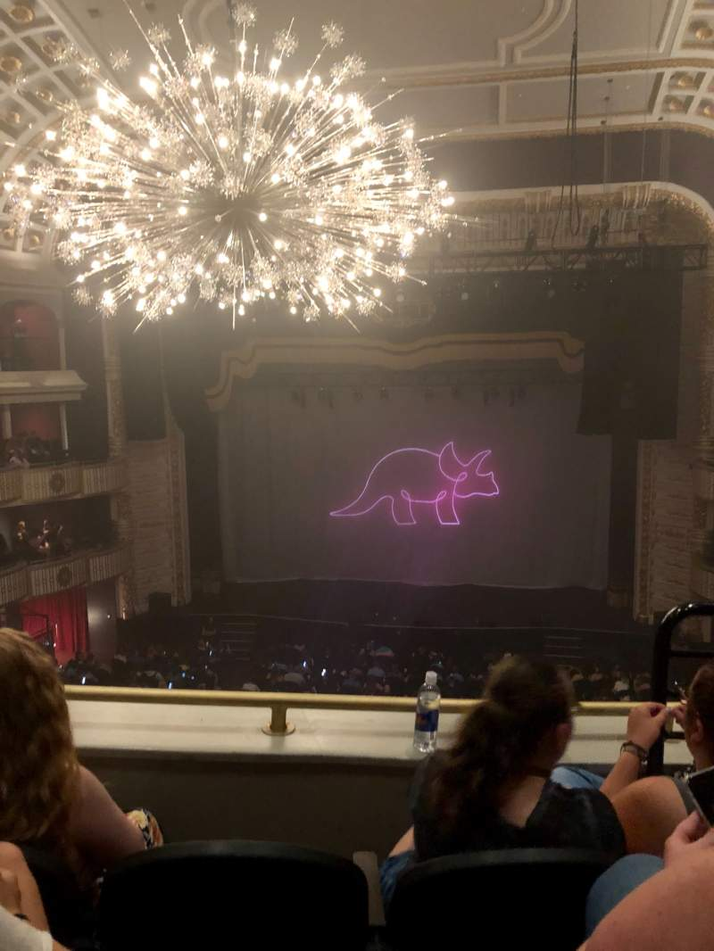 Seating view for The Met Philadelphia Section LOGE 3 Row C Seat 2