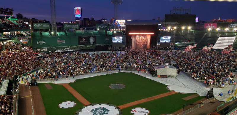 Seating view for Fenway Park Section HP Pav Club 2 Row 5 Seat 6