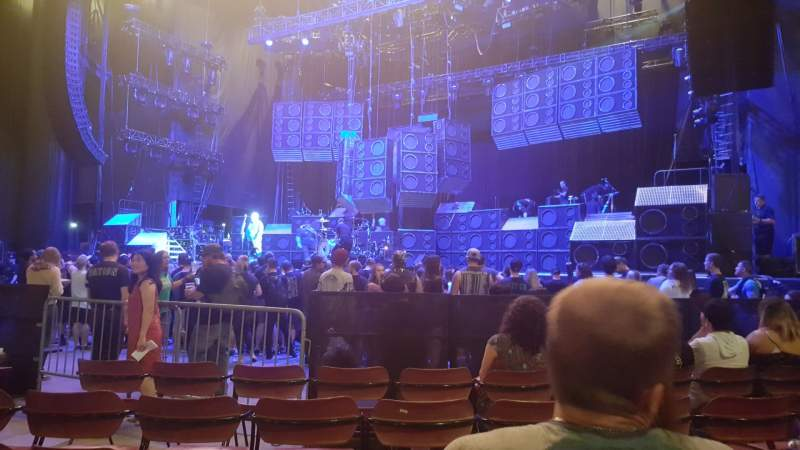 Seating view for White River Amphitheatre Section 3 Row 12 Seat 22