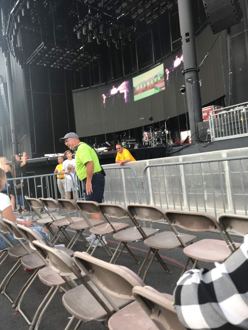 Seating view for Hershey Park Stadium Section A Row 3 Seat 11