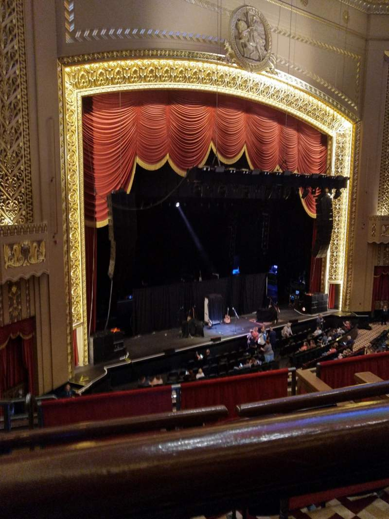 Seating view for Stifel Theatre Section Mezzanine L Row A Seat 9