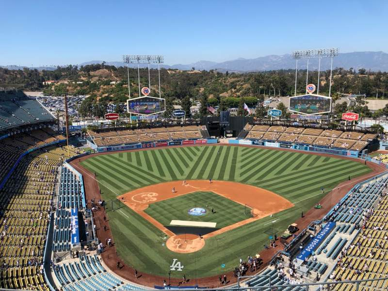 Seating view for Dodger Stadium Section 2TD