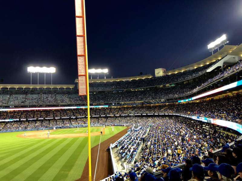Seating view for Dodger Stadium Section 165LG