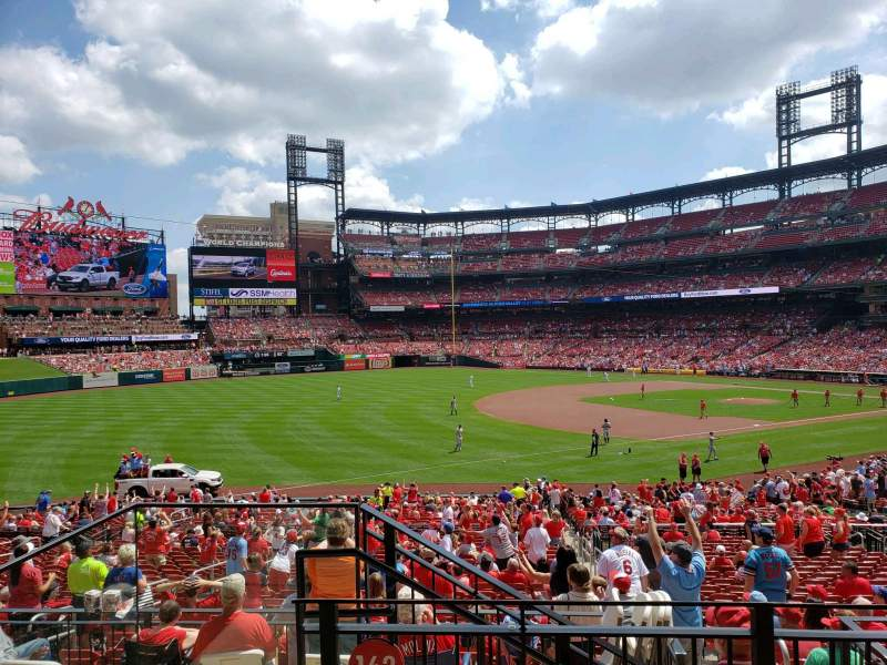 Seating view for Busch Stadium Section 162 Row 22 Seat 23