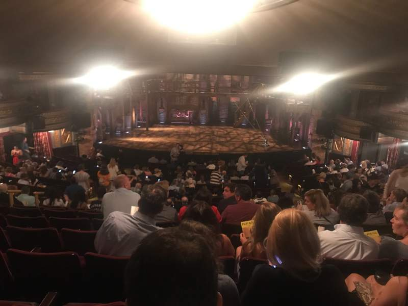 Seating view for Richard Rodgers Theatre Section Orchestra C Row V Seat 106