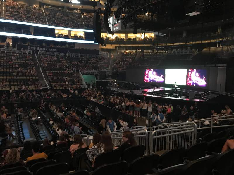 Seating view for PPG Paints Arena Section 101 Row L Seat 10