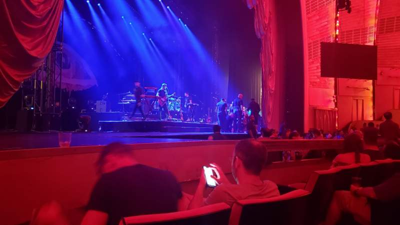 Seating view for Radio City Music Hall Section Orchestra 6 Row DD Seat 605