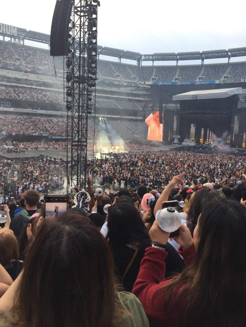 Seating view for MetLife Stadium Section 116 Row 22 Seat 17
