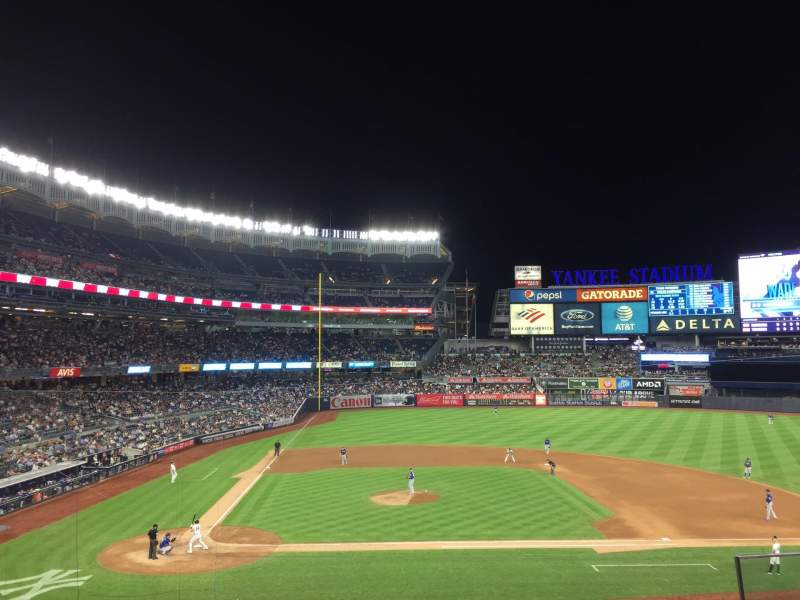 Seating view for Yankee Stadium Section 217 Row 4 Seat 5