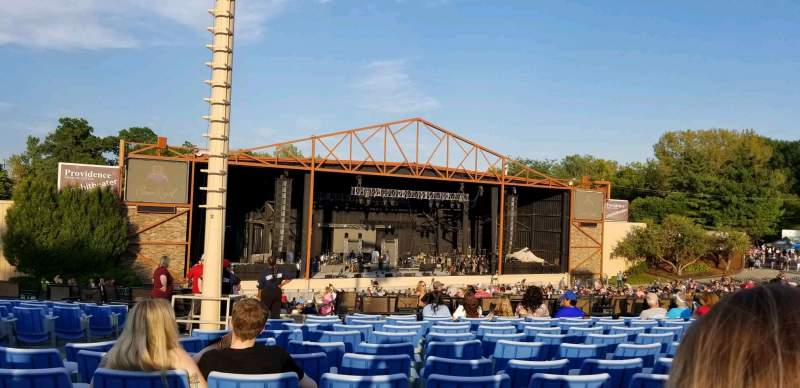 Seating view for Providence Medical Center Amphitheater Section 12 Row S Seat 24