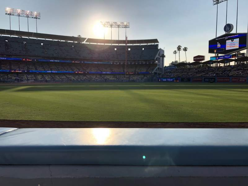 Seating view for Dodger Stadium Section 48FD Row AA