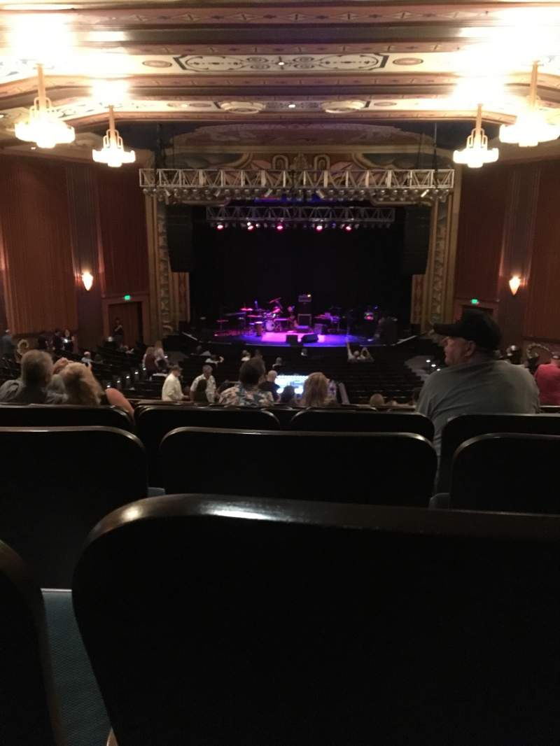 Seating view for Uptown Theatre, Napa Section BALC C Row BB Seat 107