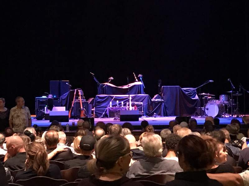 Seating view for Fox Performing Arts Center Section Orchestra Row O Seat 110