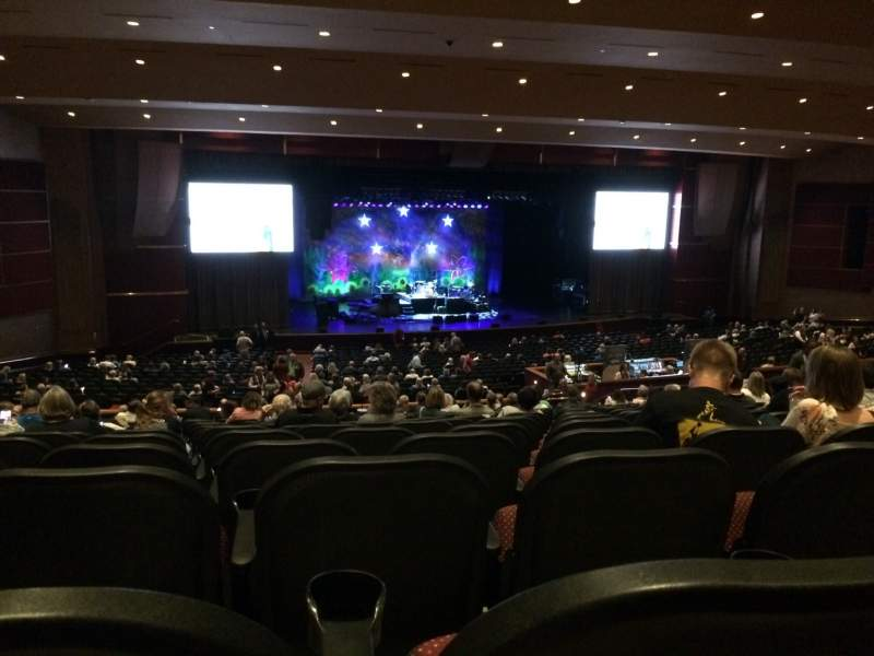 Seating view for Mystic Showroom Section L Row UU Seat 97
