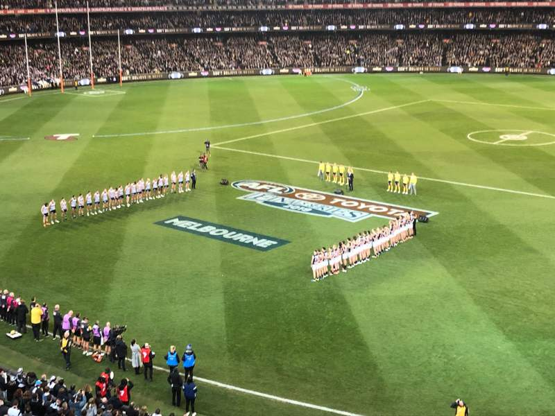 Seating view for Melbourne Cricket Ground Section P43 Row A Seat 18