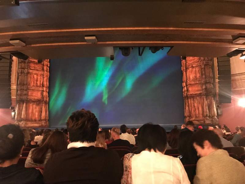 Seating view for St. James Theatre Section Orchestra C Row P Seat 103