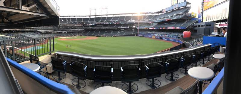 Seating view for Citi Field Section 143