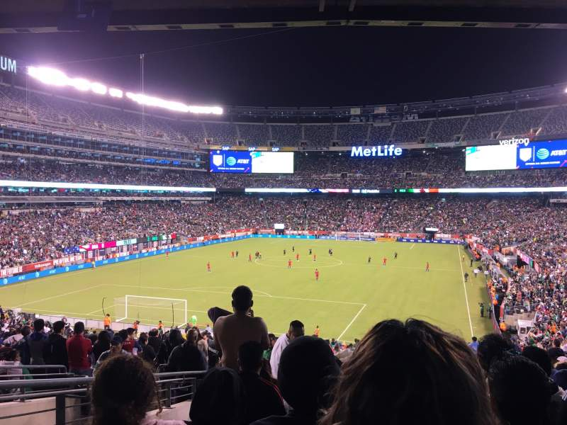 Seating view for MetLife Stadium Section 148 Row 44 Seat 29
