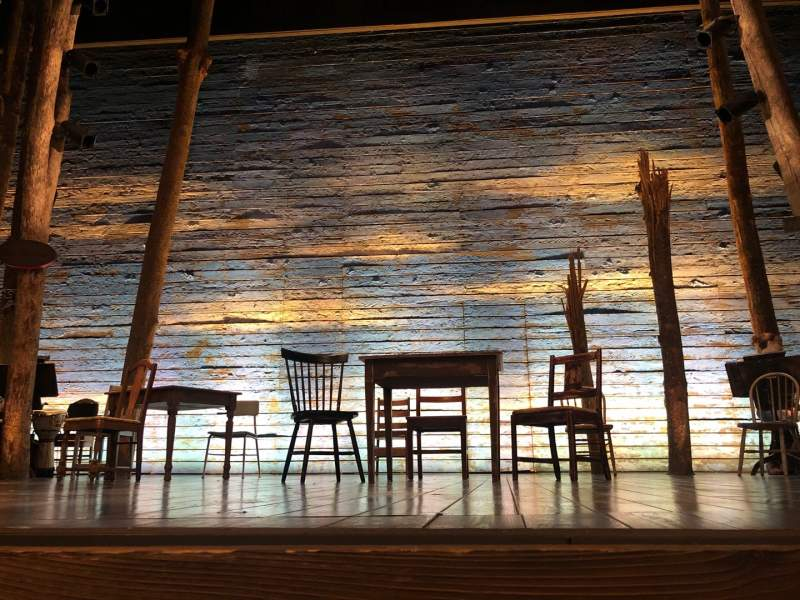 Seating view for Gerald Schoenfeld Theatre Section Orchestra C Row AA Seat 109