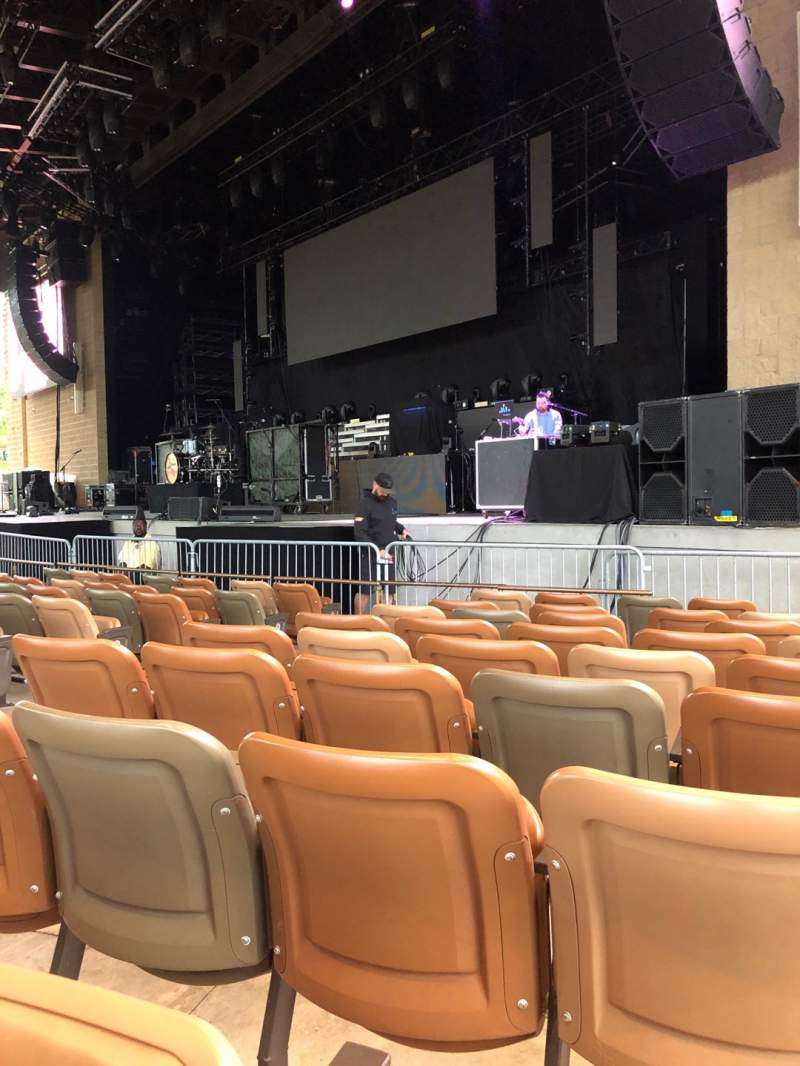 Seating view for Bethel Woods Center for the Arts Section 4 Row H Seat 5