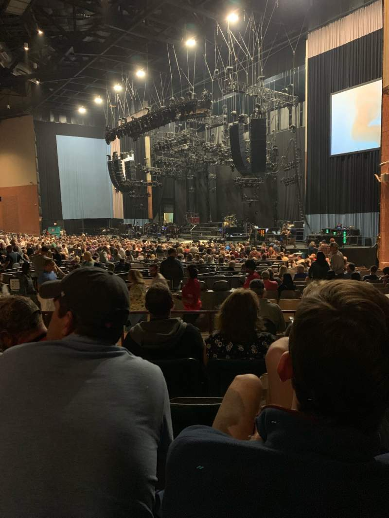 Seating view for Xfinity Theatre Section 400 Row FF Seat 415