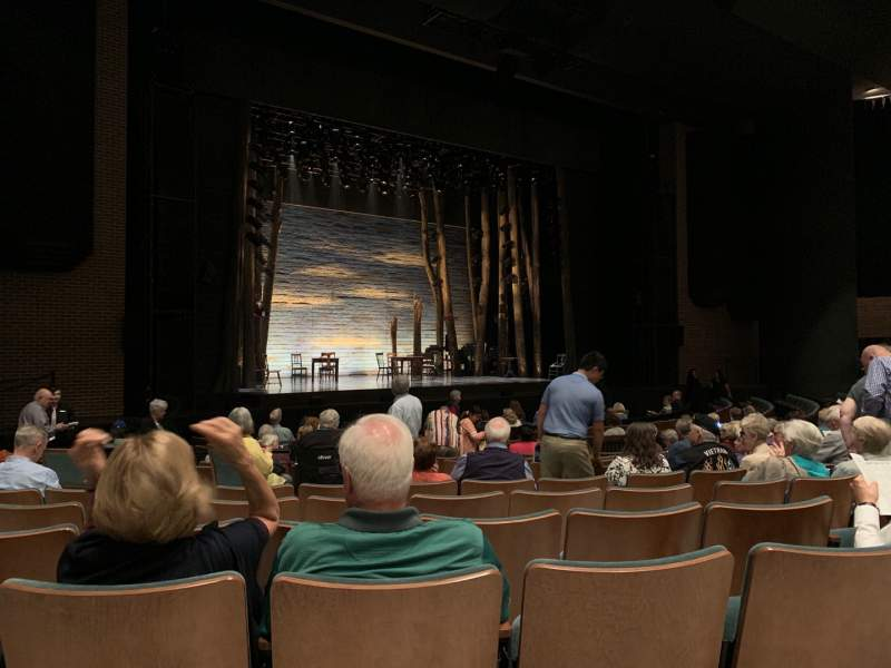 Seating view for Cobb Great Hall Section IPlatform Row I Seat 45