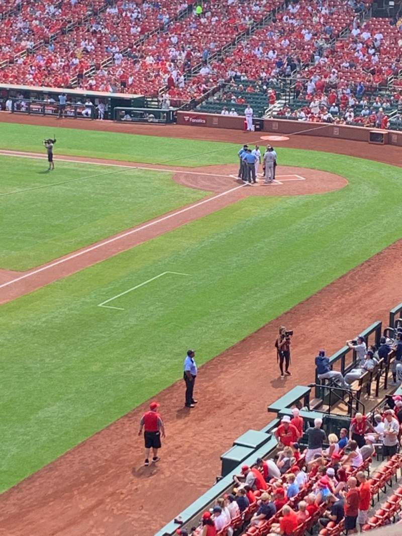 Seating view for Busch Stadium Section 265 Row 1 Seat 9
