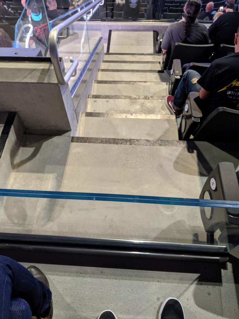 Seating view for Chase Center Section 128 Row 6 Seat 16