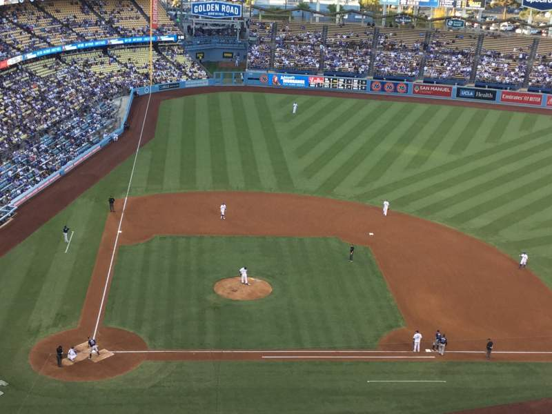 Seating view for Dodger Stadium Section 10TD Row J Seat 18