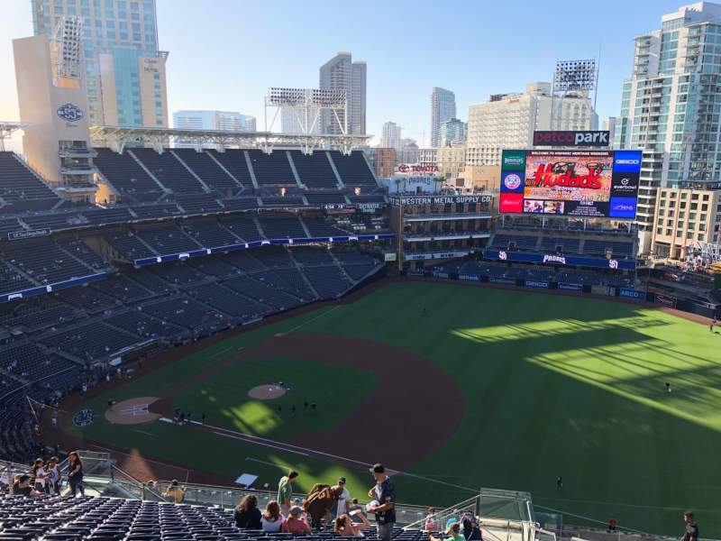 Seating view for PETCO Park Section 315 Row 25 Seat 22