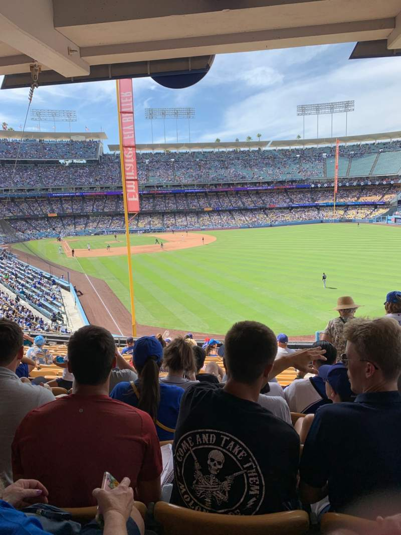 Seating view for Dodger Stadium Section 166LG Row S Seat 19