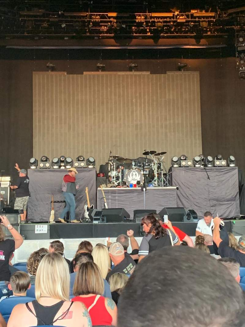 Seating view for PNC Music Pavilion Section 2 Row N Seat 19