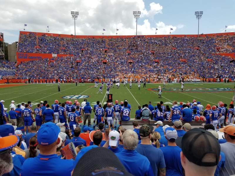 Seating view for Ben Hill Griffin Stadium Section 12 Row 10 Seat 25