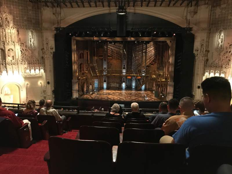 Seating view for Orpheum Theatre (San Francisco) Section Mezzanine RC Row H Seat 102