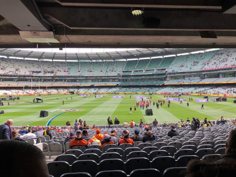 Seating view for Melbourne Cricket Ground Section M9 Row HH Seat 15