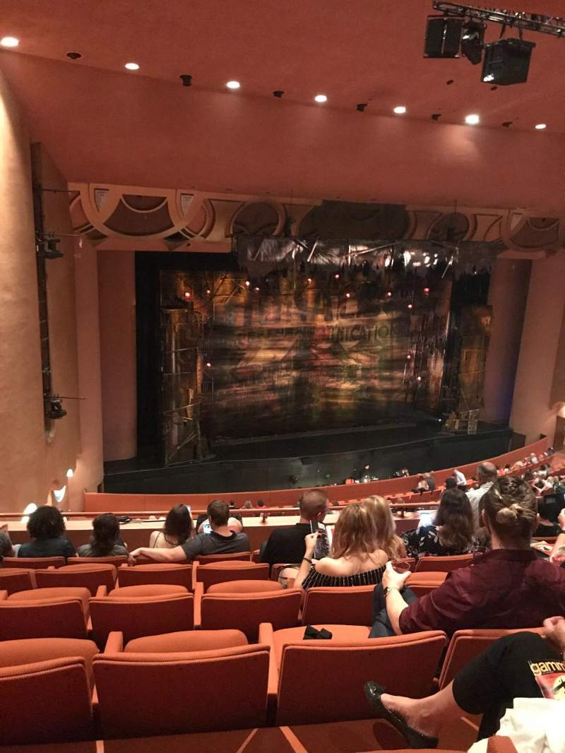 Seating view for ASU Gammage Section TierC1 Row 6 Seat 51