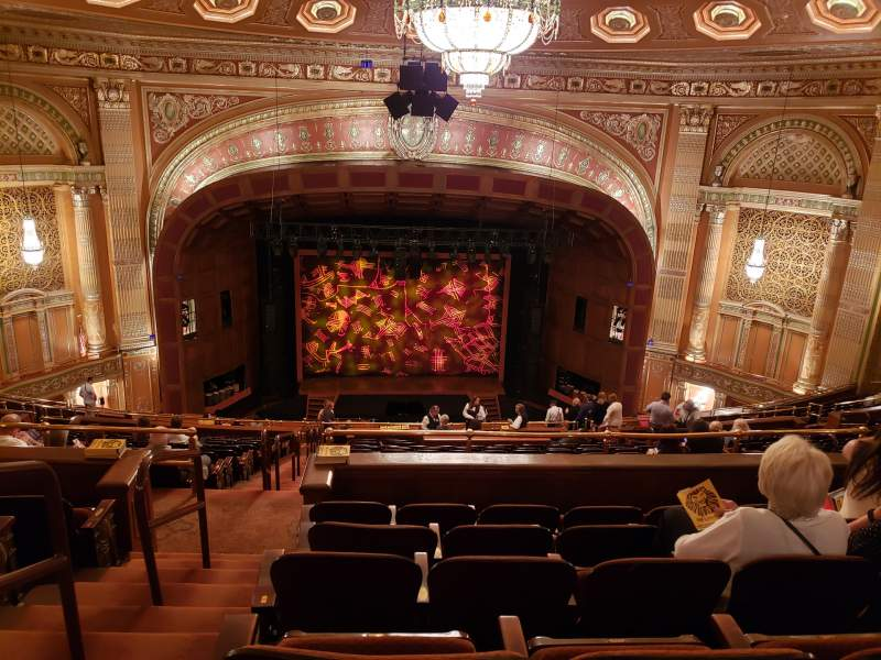 Seating view for Benedum Center Section Second Tier C Row R Seat 101