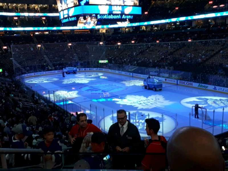 Seating view for Scotiabank Arena Section 115 Row 26 Seat 24