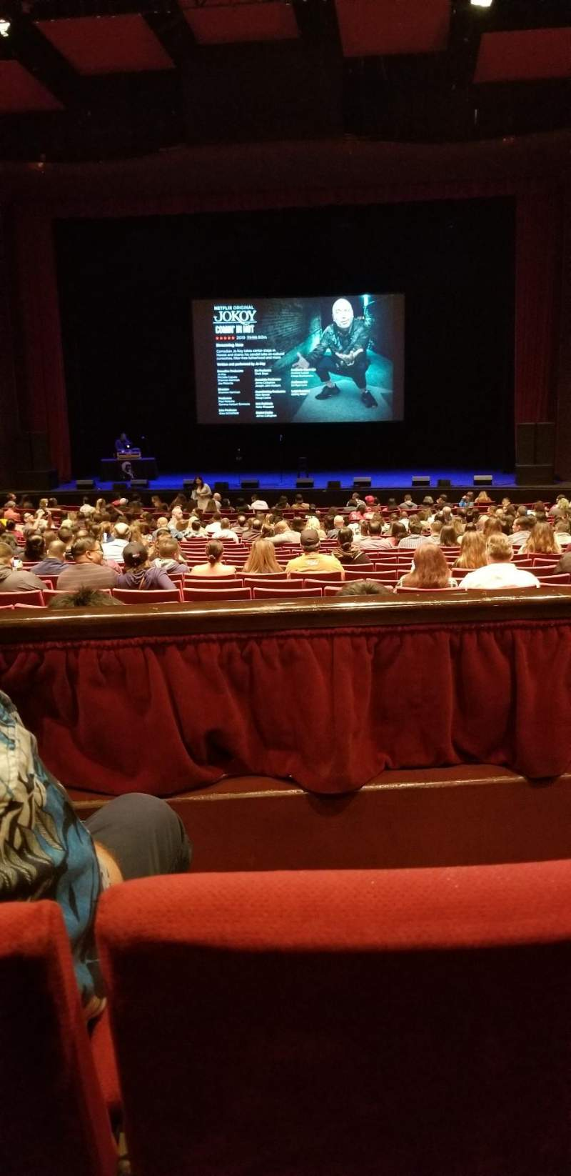 Seating view for San Diego Civic Theatre Section Dress circle Row B Seat 14