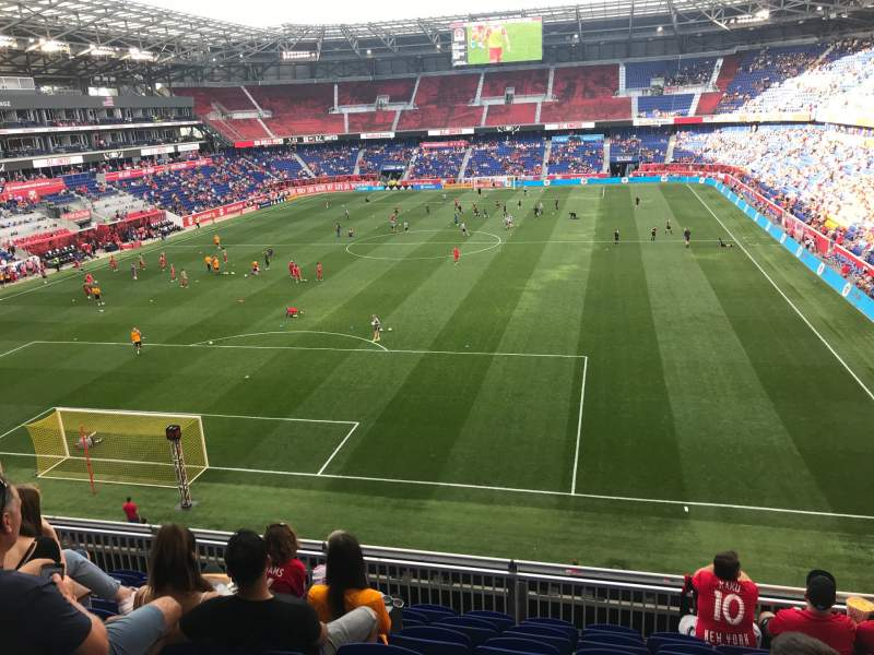 Seating view for Red Bull Arena (New Jersey) Section 233 Row 7 Seat 7
