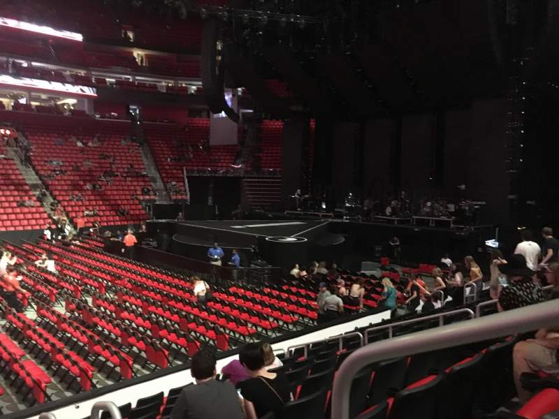 Seating view for Little Caesars Arena Section 109 Row 9 Seat 1