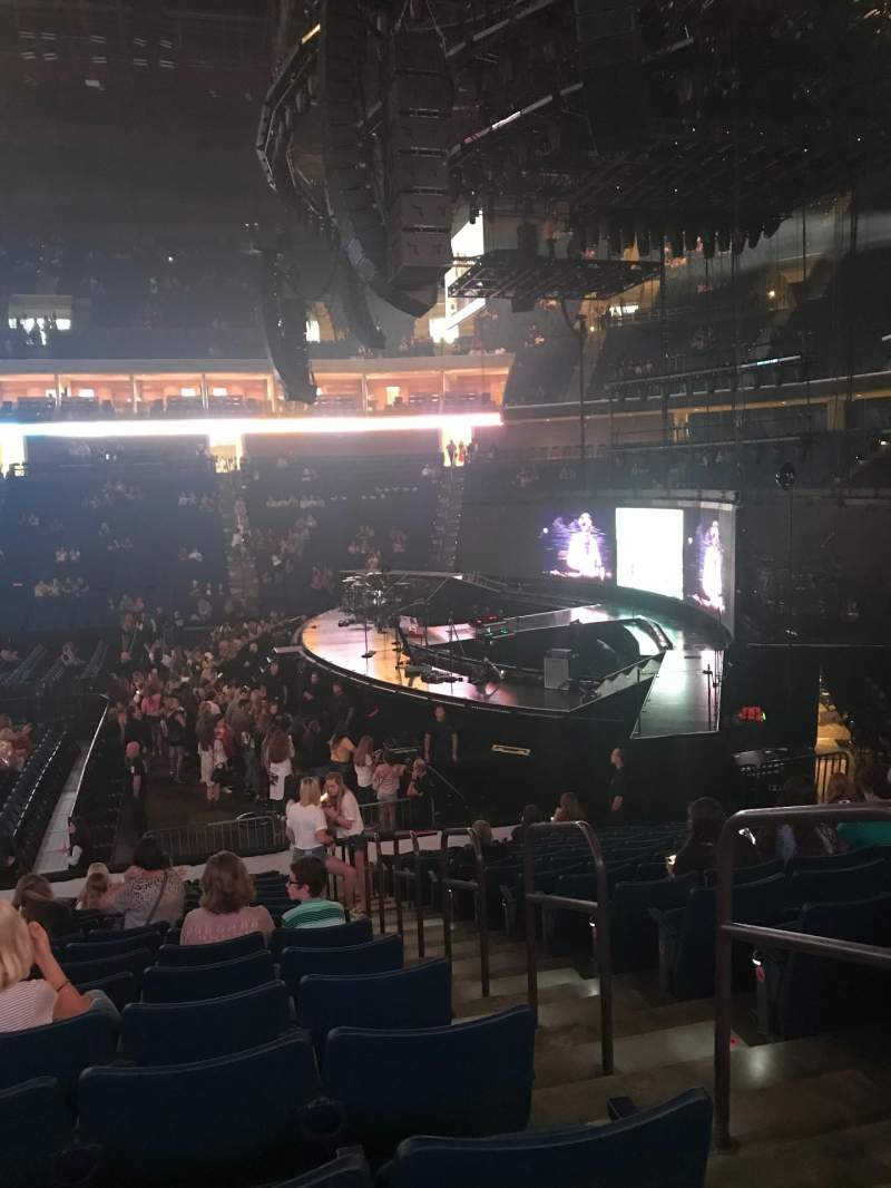 Seating view for BOK Center Section 111 Row R Seat 2