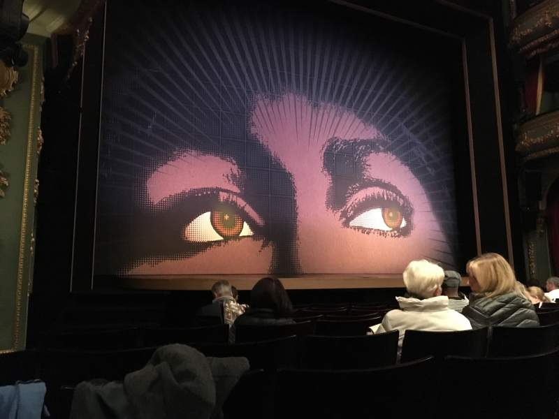 Seating view for Aldwych Theatre Section Stalls Row G Seat 23