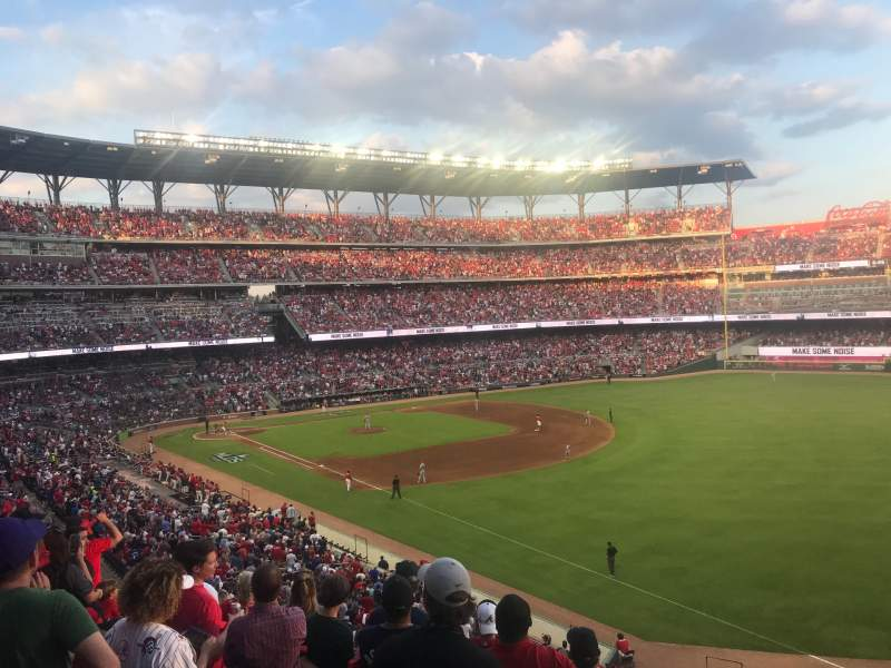 Seating view for Truist Park Section 212 Row 8 Seat 22